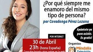 30/04/15 ¿Porqué siempre me enamoro del mismo tipo de personas? por Covadonga Pérez Lozana