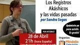 Los Registros Akáshicos y las vidas pasadas por Sandra Sogas