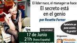 17/06/15 El secreto está en el genio por Rosetta Forner