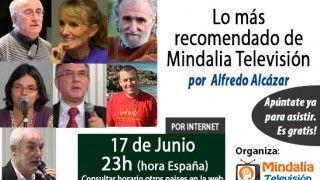 17/06/15 Lo más recomendado de Mindalia Televisión por Alfredo Alcázar