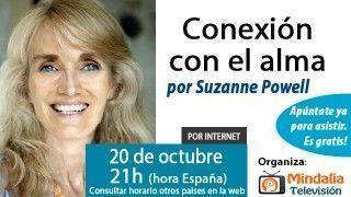 20/10/15 Conexión con el alma por Suzanne Powell