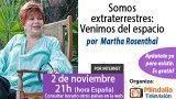 02/11/15 Somos extraterrestres: venimos del espacio por Martha Rosenthal