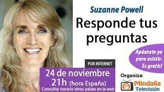 24/11/15 Suzanne Powell responde tus preguntas