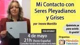 04/05/16 Mi Contacto con Seres Pleyadianos y Grises por Ivonne Mantilla