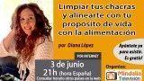 03/06/16 Limpiar tus chacras y alinearte con tu propósito de vida con la alimentación por Diana López