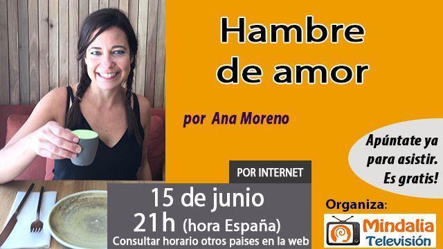 15jun16 Hambre de amor por Ana Moreno