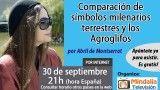 30/09/16 Comparación de símbolos milenarios terrestres y los Agroglifos por Abril de Montserrat