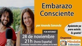 28/11/16 Embarazo Consciente por Ananda Sananda