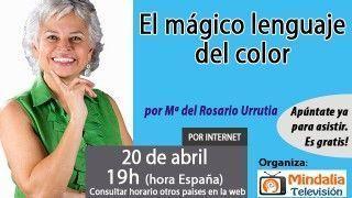 20/04/17 El mágico lenguaje del color por María del Rosario Urrutia