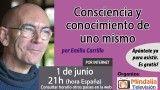 01/06/17 Consciencia y conocimiento de uno mismo Emilio Carrillo