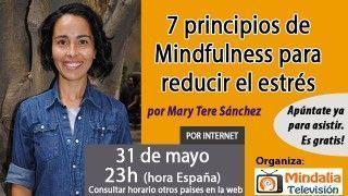 31/05/17 7 principios de Mindfulness para reducir el estrés por Mary Tere Sánchez