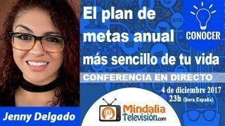 04/12/17 El plan de metas anual mas sencillo de tu vida por Jenny Delgado