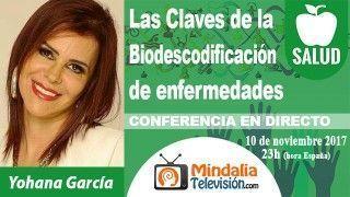 10/11/17 Las Claves de la Biodescodificación de enfermedades por Yohana García