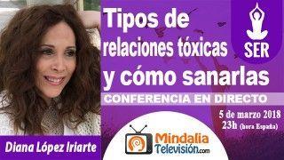 05/03/18 Tipos de relaciones tóxicas y cómo sanarlas por Diana López Iriarte