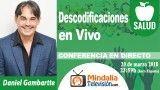 20/03/18 Descodificaciones en Vivo por Daniel Gambartte