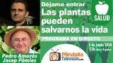 05/06/18 Las plantas pueden salvarnos la vida con Josep Pàmies. Déjame Entrar con Pedro Amorós