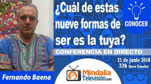 21jun18 23h Cuál de estas nueve formas de ser es la tuya por Fernando Baena
