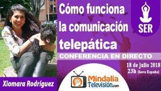 18/07/18 Cómo funciona la comunicación telepática por Xiomara Rodríguez