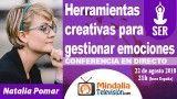 22/08/18 Herramientas creativas para gestionar emociones por Natalia Pomar