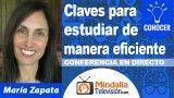 25/10/18 Claves para estudiar de manera eficiente por María Zapata